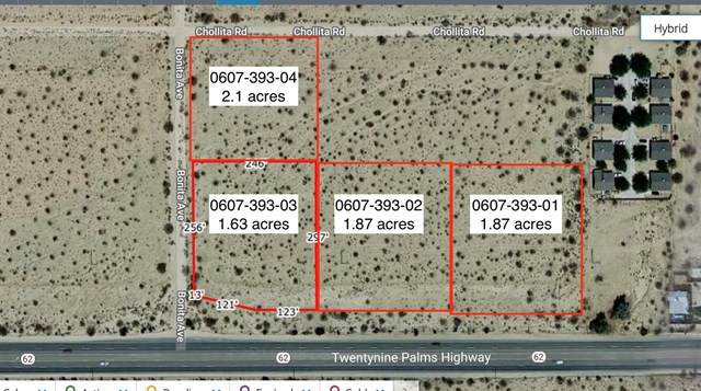 7-.47 Acres Cnr Bonita + Chollita, Joshua Tree, CA 92252 (#219057875DA) :: Powerhouse Real Estate