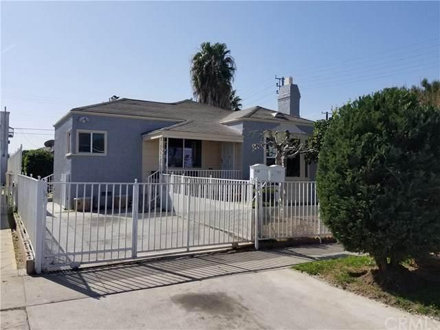 710 E 81st Street, Los Angeles (City), CA 90001 (#DW21039589) :: eXp Realty of California Inc.