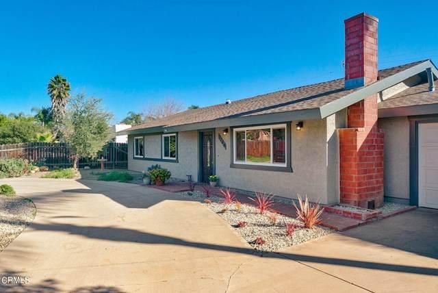 1164 Tico Road, Ojai, CA 93023 (#V1-4102) :: Rogers Realty Group/Berkshire Hathaway HomeServices California Properties