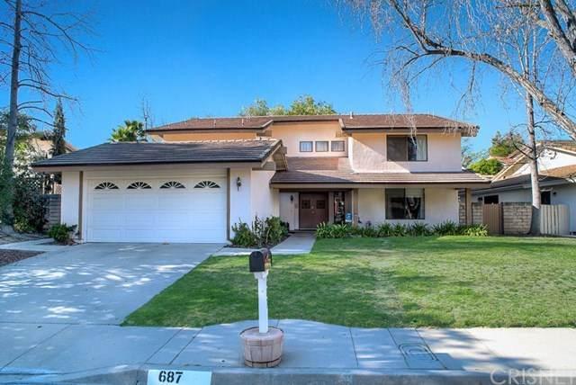 687 Triunfo Canyon Road, Westlake Village, CA 91361 (#SR21039917) :: Necol Realty Group