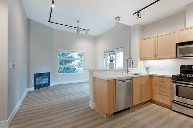 1277 Kettner Blvd Unit 413, San Diego, CA 92101 (#210005063) :: Jett Real Estate Group