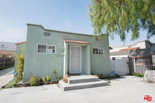 2111 S Ridgeley Drive, Los Angeles (City), CA 90016 (#21698110) :: Mainstreet Realtors®