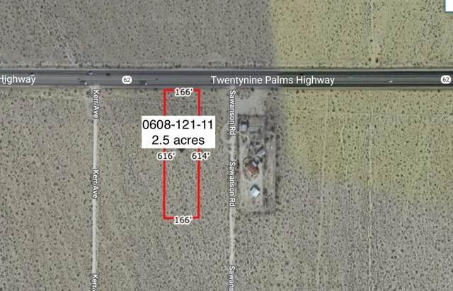 2 .5 Acres Hwy 62 West Of Sawanson Road, Joshua Tree, CA 92252 (#219057996DA) :: Legacy 15 Real Estate Brokers