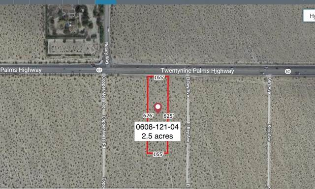 2 .36 Acres Hwy 62 E Of Copper Mesa Road, Joshua Tree, CA 92252 (#219057994DA) :: RE/MAX Empire Properties