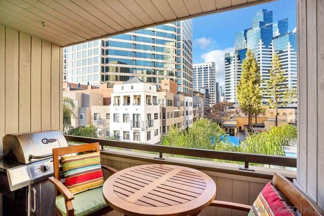 850 State St #307, San Diego, CA 92101 (#210005130) :: Jett Real Estate Group
