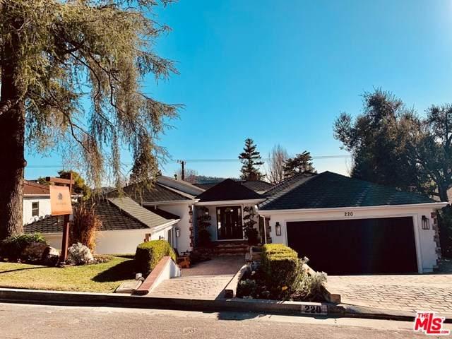 220 Mero Lane, La Canada Flintridge, CA 91011 (#21698796) :: Power Real Estate Group