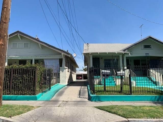 437 W 54th Street, Los Angeles (City), CA 90037 (#PW21046548) :: Hart Coastal Group