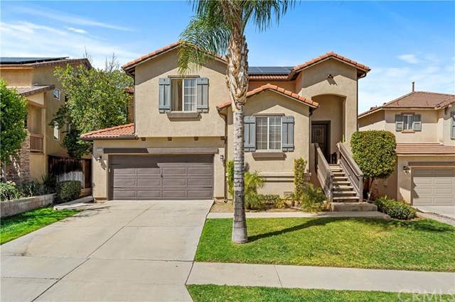 1035 Bainbridge Circle, Corona, CA 92882 (#SW21044853) :: Power Real Estate Group