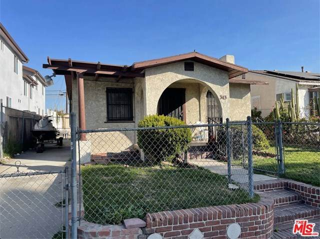 343 E 104Th Street, Los Angeles (City), CA 90003 (#21703484) :: Berkshire Hathaway HomeServices California Properties