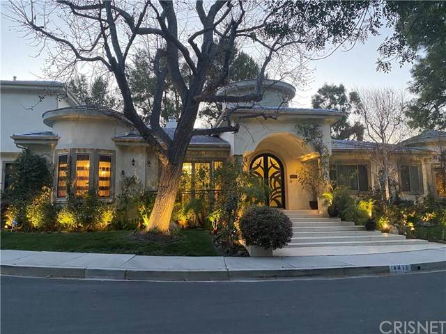 4411 Portico Place, Encino, CA 91316 (#SR21064632) :: The Brad Korb Real Estate Group