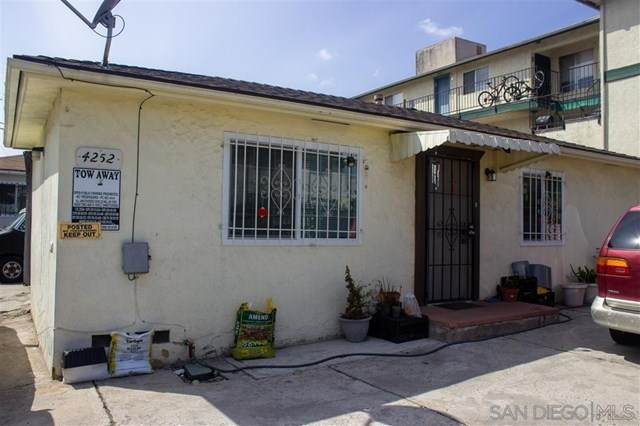 4252 4254 Estrella Ave, San Diego, CA 92115 (#210008084) :: The Costantino Group | Cal American Homes and Realty