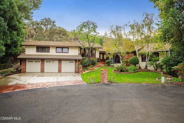 4201 Saddlecrest Lane, Westlake Village, CA 91361 (#221001757) :: Jett Real Estate Group