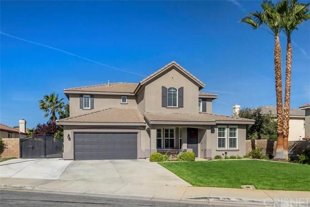 40609 Saddle Brook Court, Palmdale, CA 93551 (#SR21074467) :: Team Tami