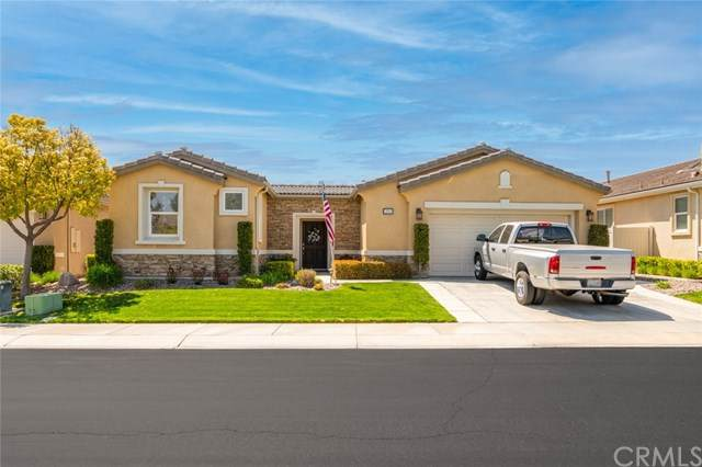 393 Mesa Verde, Beaumont, CA 92223 (#EV21073838) :: The Results Group
