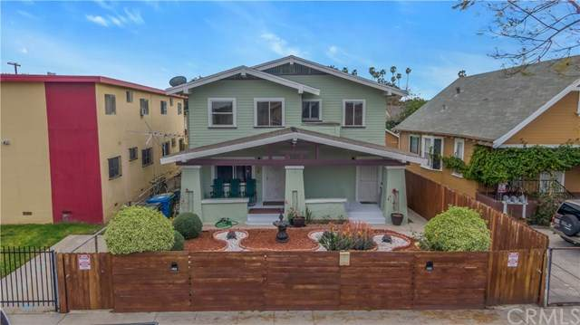 1384 W 38th Street, Los Angeles (City), CA 90062 (#PW21059247) :: Twiss Realty