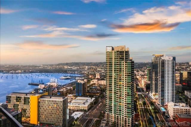888 W E Street #3304, San Diego, CA 92101 (#210009554) :: Legacy 15 Real Estate Brokers