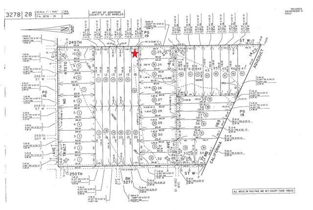 16 Vac/Vic Avenue C6/245Th Stw, Fairmont, CA 93536 (MLS #CV21078463) :: Desert Area Homes For Sale