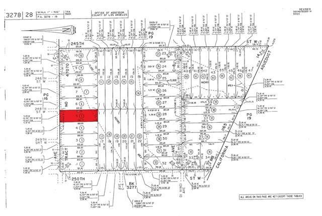 5 Vac/Ave C Drt /Vic 250th Stw, Fairmont, CA 93536 (#CV21078502) :: Team Forss Realty Group