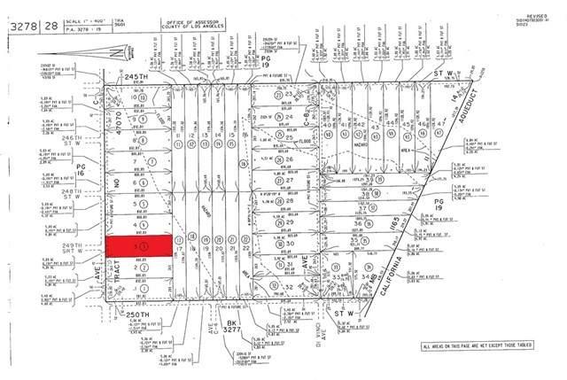 3 Vac/Ave C Drt /Vic 250th Stw, Fairmont, CA 93536 (MLS #CV21078522) :: Desert Area Homes For Sale