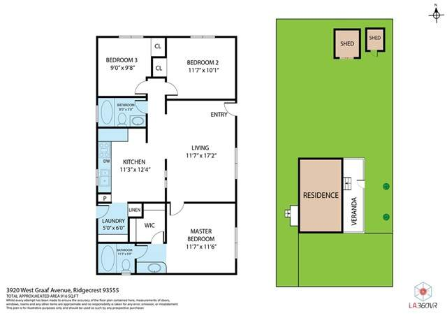 3920 W Graaf Avenue, Ridgecrest, CA 93555 (#EV21078837) :: Power Real Estate Group