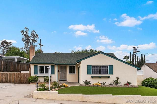 5345 Kiowa Dr, La Mesa, CA 91942 (#210009716) :: Wahba Group Real Estate | Keller Williams Irvine