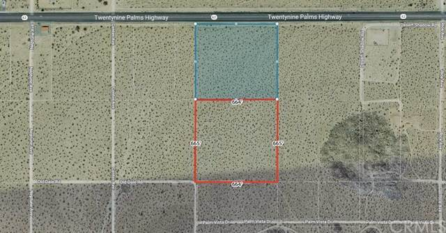 0 Twentynine Palms Highway, Joshua Tree, CA 92252 (#IV21079468) :: Legacy 15 Real Estate Brokers