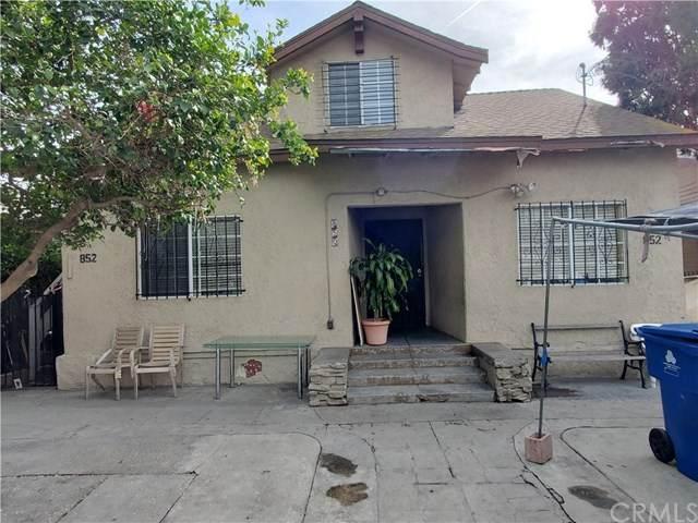 850 W 43rd Place, Los Angeles (City), CA 90037 (#IN21081857) :: Zen Ziejewski and Team