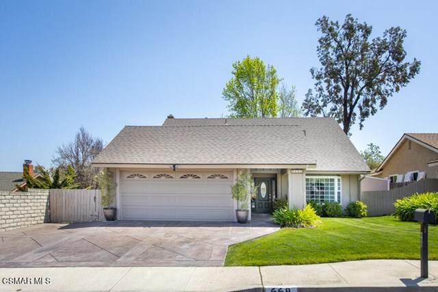 668 Los Vientos Drive, Newbury Park, CA 91320 (#221002056) :: Compass