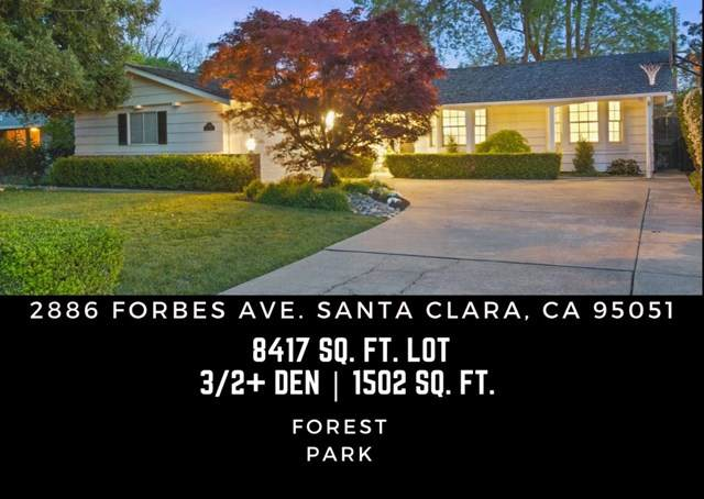 2886 Forbes Avenue, Santa Clara, CA 95051 (#ML81835121) :: Massa & Associates Real Estate Group | eXp California Realty Inc
