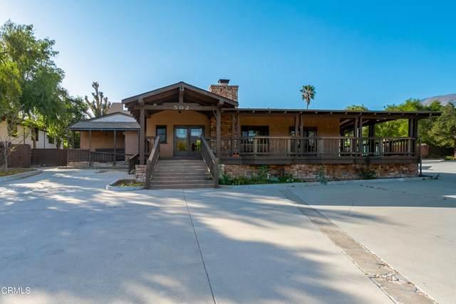 502 W Ojai Avenue, Ojai, CA 93023 (#V1-5304) :: The Brad Korb Real Estate Group