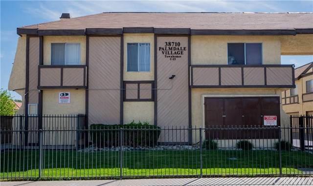 38710 10th Street E #12, Palmdale, CA 93550 (#DW21085351) :: Go Gabby