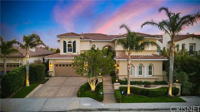 20112 Via Cellini, Porter Ranch, CA 91326 (#SR21086222) :: The Costantino Group | Cal American Homes and Realty