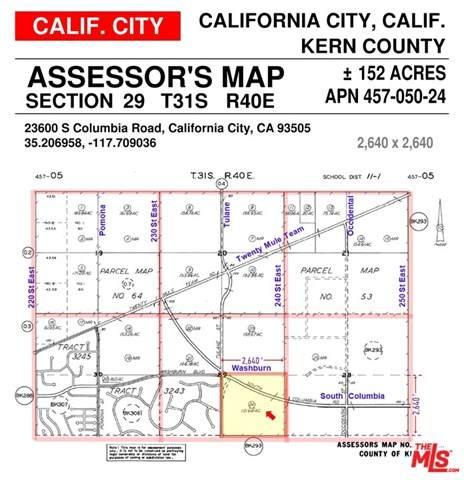 0 Columbia Road, California City, CA 93505 (#21725672) :: Zen Ziejewski and Team