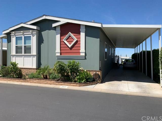 2140 Mentone Boulevard #144, Mentone, CA 92359 (#SW21087338) :: The Costantino Group | Cal American Homes and Realty