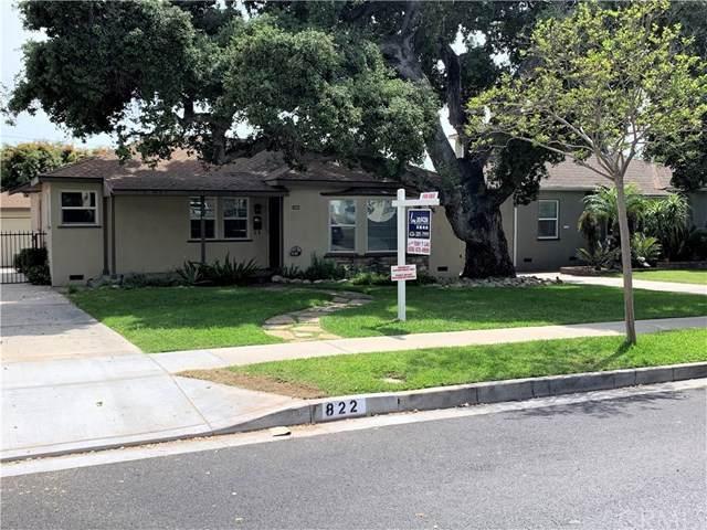 822 E Lime Avenue, Monrovia, CA 91016 (#AR21085931) :: RE/MAX Empire Properties