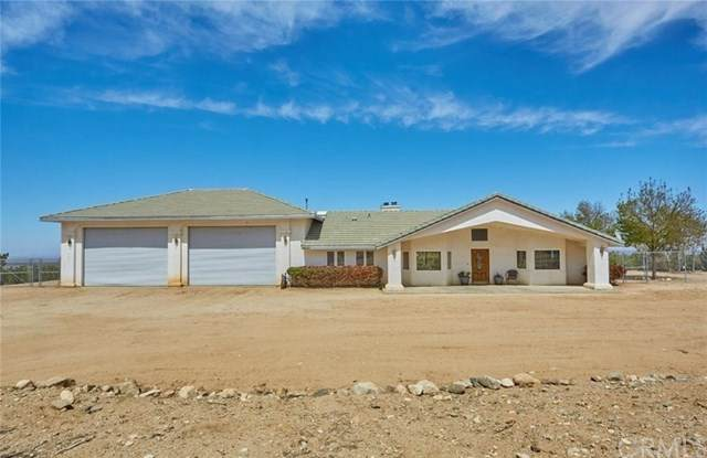 9830 Ponderosa Road, Pinon Hills, CA 92372 (#TR21092894) :: Wahba Group Real Estate | Keller Williams Irvine