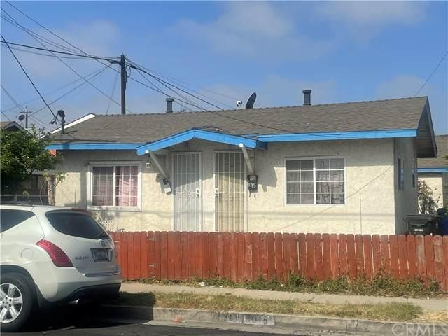 1013 Blinn Avenue, Wilmington, CA 90744 (#DW21094085) :: Mainstreet Realtors®