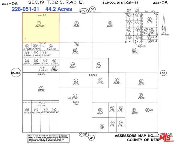0 George Boulevard, Mojave, CA 93501 (#21727510) :: RE/MAX Empire Properties