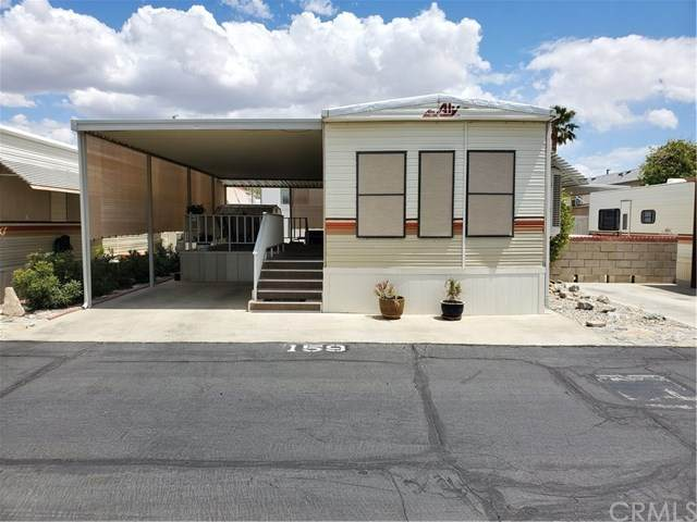 70205 Dillion Rd #159, Desert Hot Springs, CA 92241 (#DW21089979) :: Mainstreet Realtors®