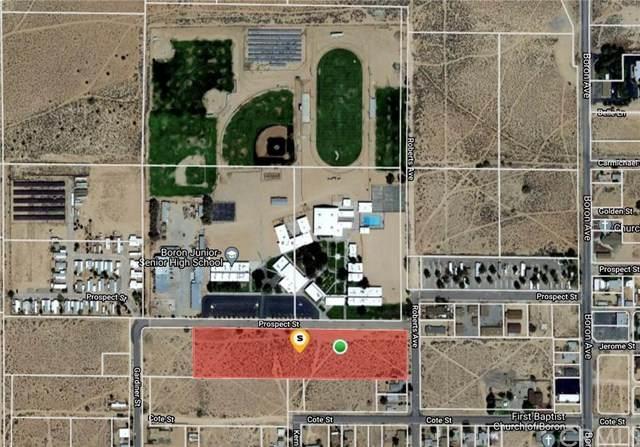 0 Section 31, Township 11, Range 7, Quarter Se, Boron, CA 93516 (#CV21094878) :: Wahba Group Real Estate | Keller Williams Irvine