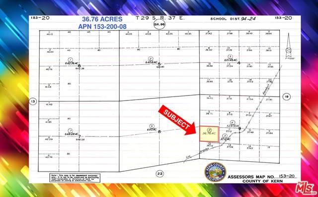 150 Los Angeles Aqueduct Road, Mojave, CA 93501 (#21728150) :: RE/MAX Empire Properties