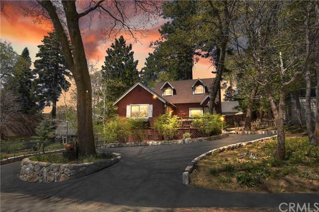 380 Hemlock Drive, Lake Arrowhead, CA 92352 (#EV21096555) :: The Costantino Group | Cal American Homes and Realty