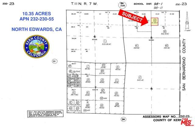 10 Rosewood, North Edwards, CA 93523 (#21728702) :: Cal American Realty
