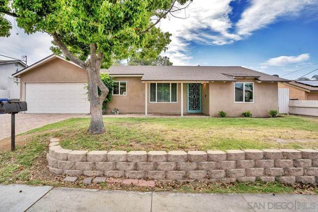 9345 E Heaney Cir, Santee, CA 92071 (#210012131) :: The Costantino Group   Cal American Homes and Realty