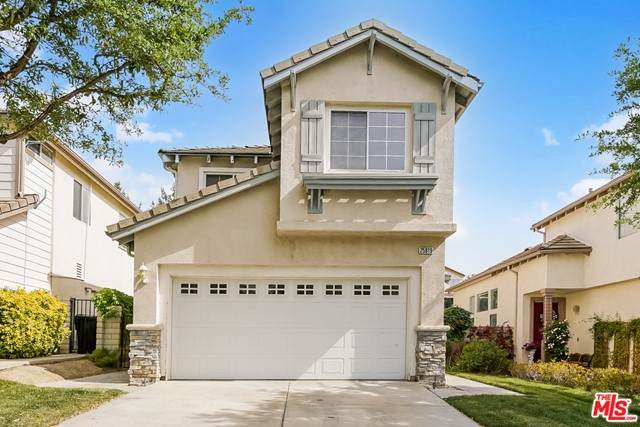 25819 Wordsworth Lane, Stevenson Ranch, CA 91381 (#21727960) :: The Costantino Group | Cal American Homes and Realty