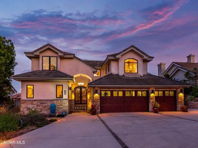 420 Ravensbury Street, Lake Sherwood, CA 91361 (#221002441) :: Mainstreet Realtors®