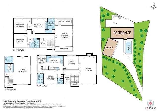 3311 Beaudry, Glendale, CA 91208 (#SW21098233) :: Better Living SoCal