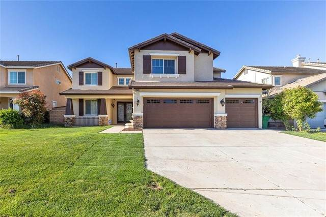 28865 Golden Dawn Drive, Menifee, CA 92584 (#SW21097882) :: Realty ONE Group Empire