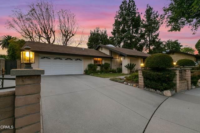 923 Spruce Lane, Pasadena, CA 91103 (#P1-4656) :: The Brad Korb Real Estate Group