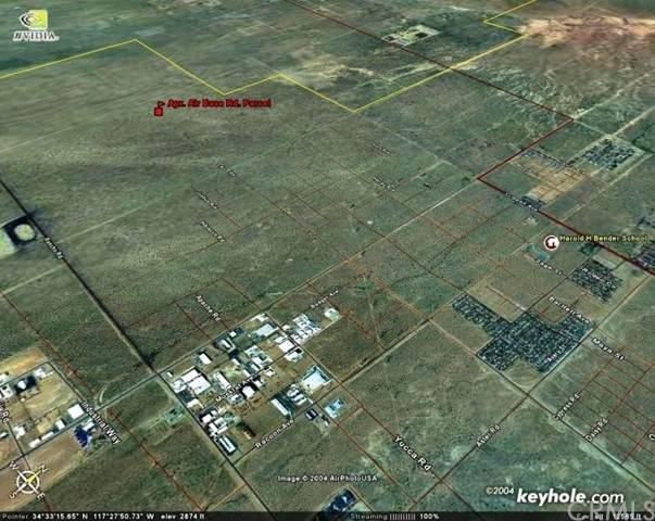 0 Air Expressway (Air Base Rd.), Adelanto, CA 92301 (#OC21098715) :: Power Real Estate Group